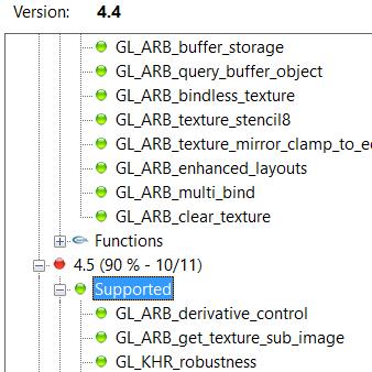 OpenGL 1.1 / 1.2